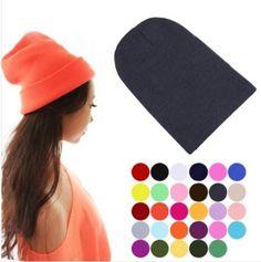 Women Winter Warm Caps Beanie Solid Elastic Hedging Color Sport Hat Sale WCA020 #Unbranded #BoonieHat