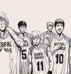 "kurogamis: ""LET'S GO VORPAL SWORDS! """
