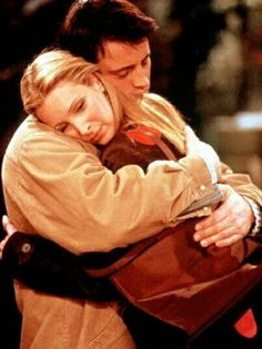 Joey Tribbiani and Phoebe Buffay