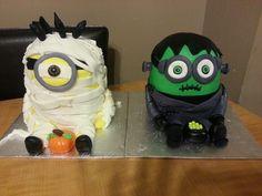 Minion Halloween cakes