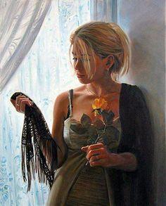 Kai Fine Art is an art website, shows painting and illustration works all over the world. Albrecht Durer, Woman Painting, Figure Painting, Female Portrait, Female Art, Yuri, Renoir, Canadian Artists, Fine Art