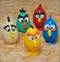 ovos do Angry Bird... joinha