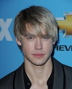 Short Blonde Messy Haircut for Young Men from Chord Overstreet in 2011