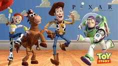 The Toy Story gang, perfect work movie!