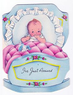 1950 baby announcemnt by jarmie52, via Flickr