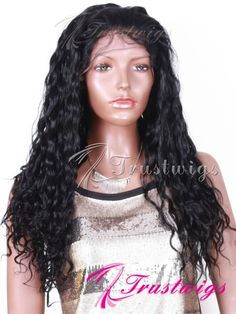 Silky Straight Texture Indian Remy Hair Glueless Full Lace Wig