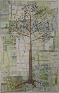 For 4 Who Stood Tall by Kathie Briggs  Adventures in Abstraction describes my rather recent foray into spontaneous free piecing.  Northern Lights, one of the pieces featured in the article has been selected by the Crooked Tree Art Center in Petoskey Michigan for its Nocturne Exhibit  (January 19, through April 5, 2013).