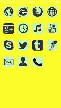 #CocoPPa #kawaii #yellow #music #clock #phone #mail