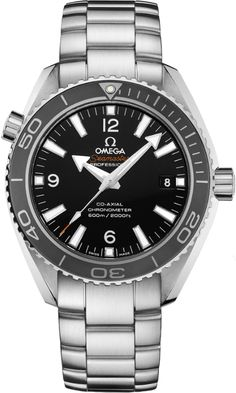 Discounted Omega Seamaster Planet Ocean Automatic Watch Model 232.30.42.21.01.001 Black Dial Automatic Steel Bracelet