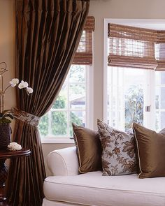window treatment...for the Master Bedroom.  I already have a similar fabric so now all I need is the time to sew!