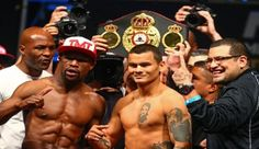 Could the Floyd Mayweather Jr./Marcos Maidana fight get canceled over a glove dispute?