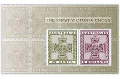 COLLECTORZPEDIA: Australia Stamps The First Victoria Cross