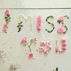 I miss you love love quotes quotes quote i miss you love images L Miss You, Missing You Love, Love Mom, Flower Words, Flower Quotes, Flower Art, Art Flowers, Flower Petals, Belle Image Nature