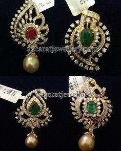 12 Grams Diamond Pendants - Jewellery Designs