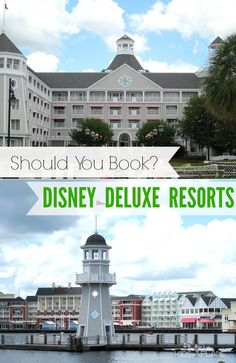 Disney World Hotel Guide: Why book a Disney Deluxe Moderate Resort and What to Expect when you get there. A how to guide to WDW's 10 deluxe resorts.