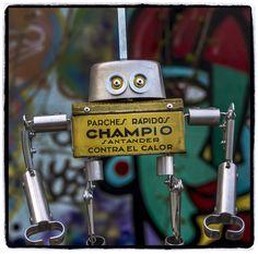 Dorislacio, robot de Factoría de Androides. www.satrapa.es