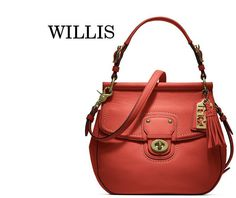 f727356e1bbd Coach Willis Bag. The Color is awful Coach Purses