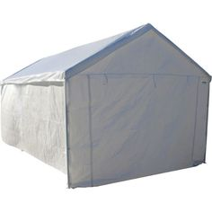 Keep your belongings safe and secure by adding this Caravan Sports Domain Carport Sidewall Kit. Made of polyethylene material. Portable Carport, Metal Carports, Canopy Tent, Tents, Boat Insurance, Pop Up Tent, Galvanized Steel, Water Features, Curb Appeal