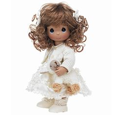 The fairest in the flock, this superbly dressed little Precious Moments doll celebrates the gentle spirit of all His devoted lambs. Description from flossiesgifts.com. I searched for this on bing.com/images