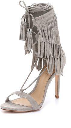 533b31a04d3 Schutz Kija Suede Fringe Sandals  sandals  shoeaholics  shoeaddict   shoelover  fringesandals Fringe