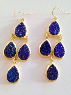 Crazy Beautiful Druzy Earrings