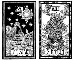 From the upcoming Brady Tarot https://www.kickstarter.com/projects/381565550/the-brady-tarot-natural-history-meets-the-esoteric