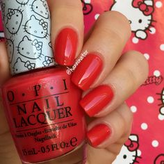 5 apples tall - OPI Hello Kitty collection