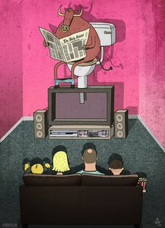Steve Cutts Illustrates The Sad Truth About The World We Live In « Art-Sheep