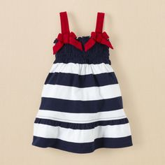 newborn - girls - Americana dress | Children's Clothing | Kids Clothes | The Children's Place