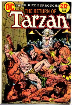 Your place to buy and sell all things handmade Comic Books For Sale, Vintage Comic Books, Read Comics, Dc Comics, Robert E Howard, Neca Action Figures, Tarzan Of The Apes, Joe Kubert, Fantasy Comics