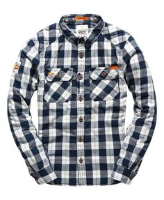 Superdry Rookie Flannel Quilted Shirt