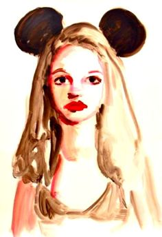Britney Spears With Ears, by Annie Kevans