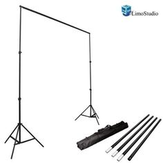 LimoStudio Photo Video Studio 10Ft Adjustable Muslin Background Backdrop Support System Stand, AGG1112 LimoStudio http://www.amazon.com/dp/B00E6GRHBO/ref=cm_sw_r_pi_dp_nswowb0814860