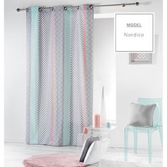 Curtains & drapes Curtain Baltic with eyelets piece) Dcor Designdcor Design Room Divider Curtain, Cool Curtains, Curtains Living Room, Curtains, Baby Room Decor, Interior, Baby Room Colors, Home Decor, Luxury Vinyl Plank
