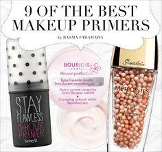 9 of the Best MakeUp Primers eyeshadow, makeup, contour, contouring, highlighting, brow, brows, shape, sculpt, pantone, color, skin tone, skintone, lipstick, gloss, eyes, color wheel, makeup, makeup a (Best Blush Bronzer)