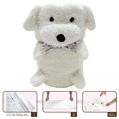 Ernie the Doggie - My Pet Blankie   Blanket-Pillow-Plush Toy