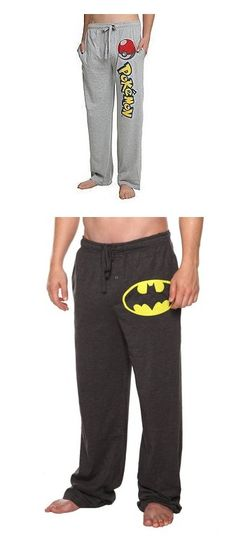 """Pajama Pants"" by curiousgamer ❤ liked on Polyvore featuring men, pants, men's fashion, men's clothing, men's sleepwear, batman, bottoms, superhero's, men's apparel and mens clothing"