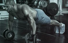 Go deeper to get bigger. In this workout, you'll perform a pushup with...