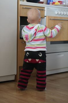 How awesome are these pants?!!! Ravelry: Project Gallery for Monsterbukse pattern by duBedåre