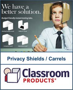 53 Best Classroom Privacy Shields Study Carrels Images Board