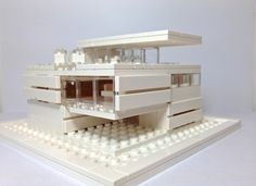This architecture was inspired by last year's set Architecture Studio. The set provided me with sufficient bricks to build my own architecture model. As an amateur architectur...