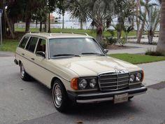 1979 Mercedes Benz 300TD turbo diesel station wagon