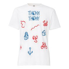 THOKKTHOKK Sketch T-Shirt white