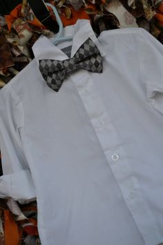 Charcoal Grey on Gray Argyle Adjustable Baby / Toddler / Child Bow Tie on Etsy, $20.63 AUD