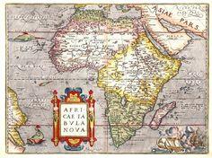 África en 1570
