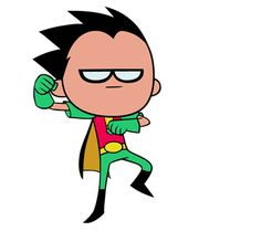 Robin Dance Animation for Season 3 of Teen Titans GO! - Hayk Manukyan