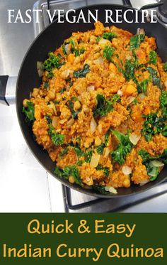 nice fast vegan recipe