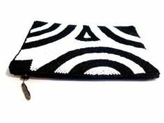 iPurse® -Abstract Swirl White-Pouch/Wallet/ Phone case/evening purse