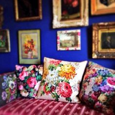 Lovely pillows, Sarah Moore Vintage