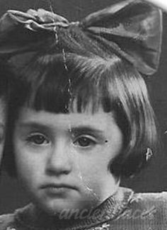 Portrait taken in Amsterdam Netherlands in 1942 of 3 year old Marianne Aandagt. Marianne was murdered in Auschwitz along with her mother and 7 year old brother Jacob on July 18, 1942.